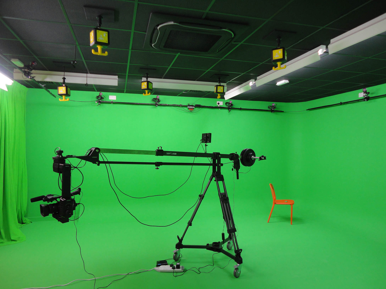 Business: Green Screen Studio