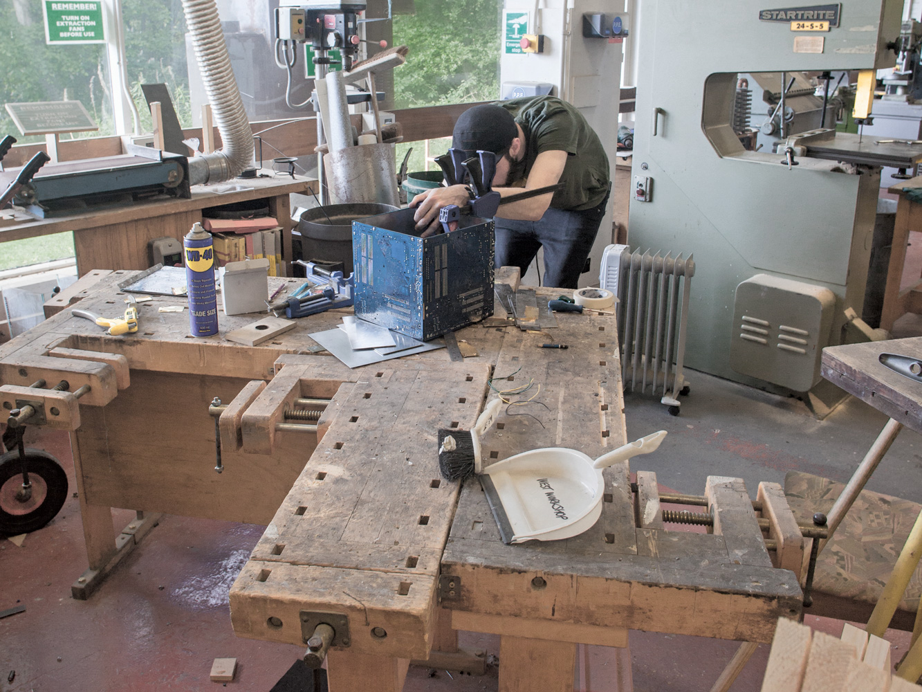 Woodwork & Metalwork Workshops